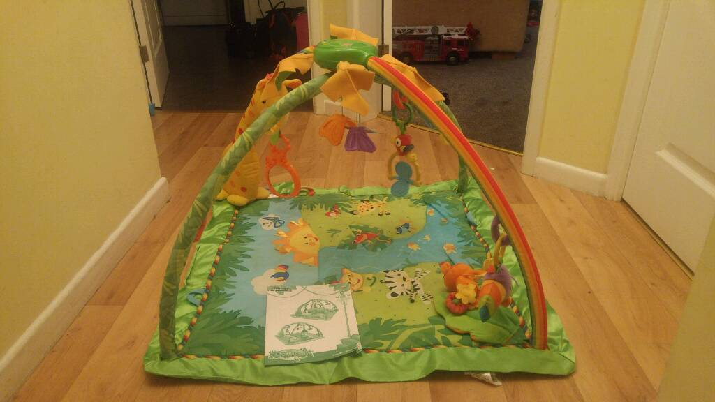 Fisher price baby rainforest gym