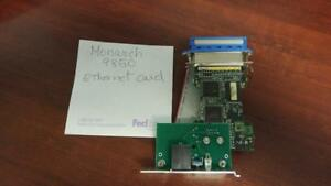 MONARCH 9850 ETHERNET CARD 57810-0003 PARALLEL TO RJ-45