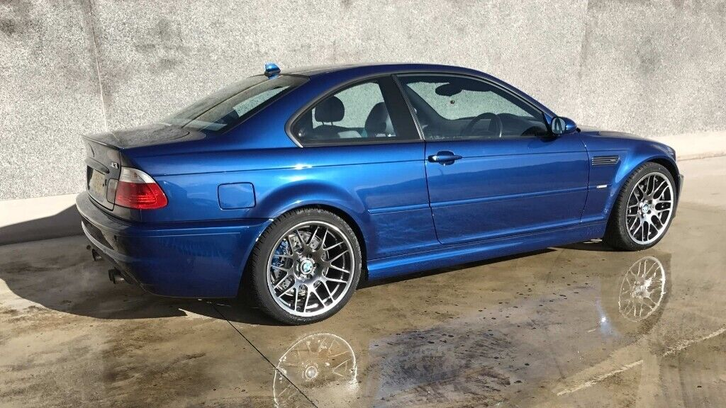 BMW E46 M3 >> Bmw E46 M3 Individual Avus Blue 71k Fsh Manual Csl Shadow Chrome Immaculate In Aughnacloy County Tyrone Gumtree