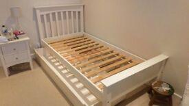 M&S Hastings Range single wooden bed