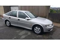 VERY LOW MILEAGE Brand New 12 month MOT Vauxhall Vectra 1.8L Club Automatic 5-door