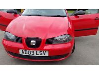 Seat Ibiza 99months mot central lock remote control great drive nice inside and out