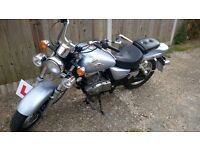 2007 SUZUKI GZ Marauder 125 k6 MOT til 24/April/217,learner legal