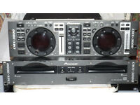 PIONEER.. CMX-3000 .. TWIN CD DECKS & CONTROLLER