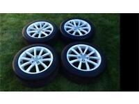 Mk2 Audi TT Alloy Wheels and Tyres