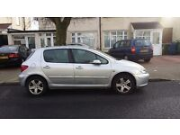 Peugeot silver 307 for sale