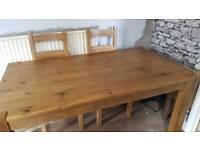 Real oak next table