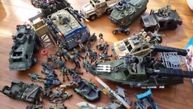 Huge collection of Army toys