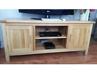 TV Stand / Cabinet - Solid Oak