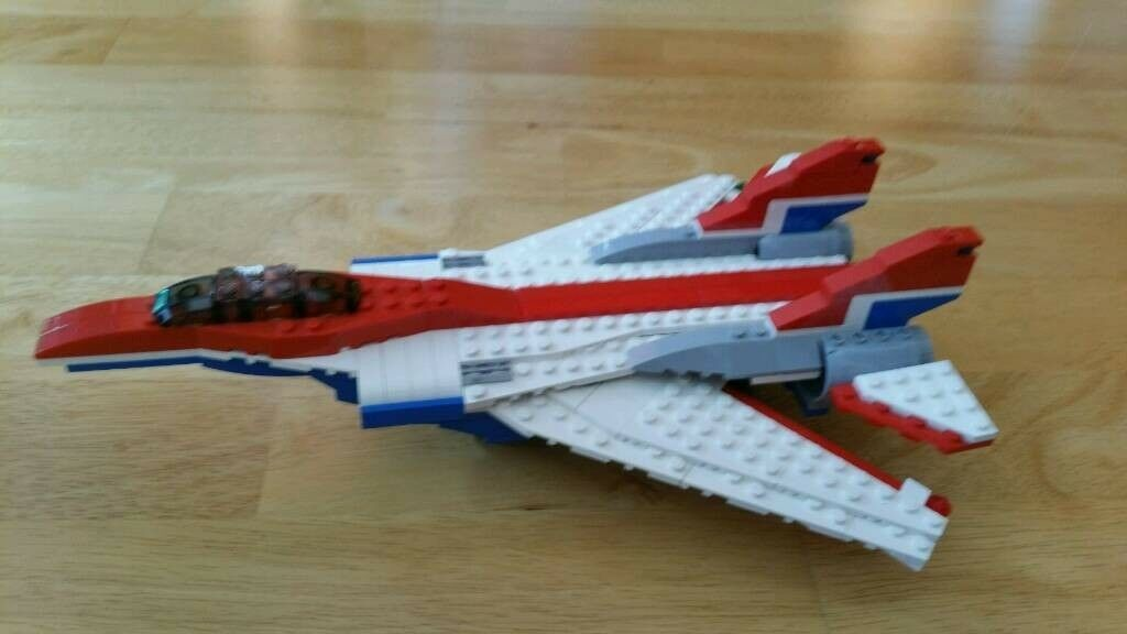 Lego Creator 3 In 1 Jet Plane With Instructions In