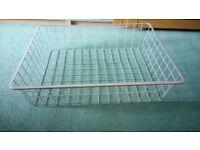 4 x metal storage baskets for ikea wardrobes