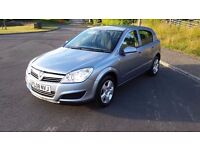 Vauxhall Astra club, 2008 (08) 1.3cdti 1 Owner only 54000 miles(warranted) F/S/H Mot Feb 2018