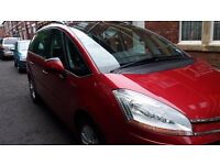 Citroen C4 Grand Picasso VTR+, Sept 2009, red, 7 seater, Full elec, C/C £3950 ono