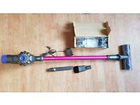 pink used dyson v6 absolute charger tools new Handheld Wall Mount Bracket Docking Station