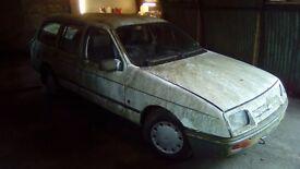 1983 sierra estate 2.3 diesel