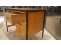 Desk with 3 wooden drawers