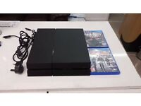 Ps4 500gb 2 games leads no controller