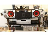 Harman kardon, monitor mourdan short, Sony, Jvc, centar, surround, active subwoofer, front
