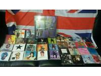 Won't post..cash on collection only large david bowie collection of cds