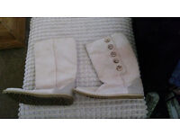 "Genuine cream ""summer"" uggs size 6.5"