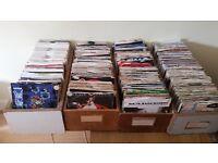700+ 7 inch vinyls for sale!