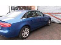 BREAKING AUDI A4 B8 SE CVT 2.0 TDI AUTOMATIC 8 SPEED 2009 ARUBA BLUE 91k SALOON