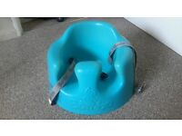 Baby Bumbo seat blue comes with tray and original box