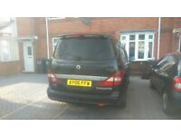 Ssangyong rodius 4x4 manual