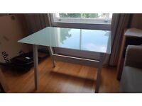 John Lewis Office Desk - White