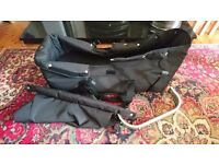 Baby jogger city select carrycot / bassinet in black