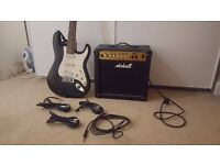 Electric guitar, Marshall MG15CD amplifier
