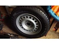 Swift Challenger 5 Stud Caravan Wheel and Tyre... Brand new....