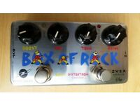 Zvex Box of Rock - distortion/overdrive/boost pedal