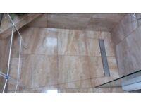 Polish tiler-bathroom fitter.