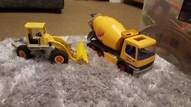 Playmobil construction vehicles