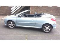 Peugeot206cc year2004 Automatic