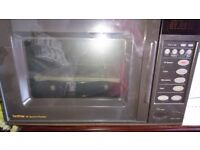 Hi speed oven and microwave in one appliance