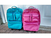 2 x childrens hand luggage