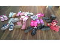 Girls shoes/boots bundle of 16 pairs - all for £25