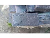 PALLET Paving Decking Patio Garden Bricks Tiles Blocks Dark Charcoal Black Grey Approx 750 bricks