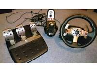 Logitech G25 complete racing set in great condition
