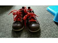 Brown boots Clarks baby boy size 5g