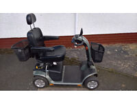 MOBILITY SCOOTER. For sale by Bodach Scooters. Profits to Homelands Trust – Fife.
