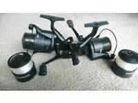 Shimano Baitrunner reels and poweloop rods