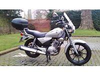 Yamaha YBR 125 Custom in very good condition