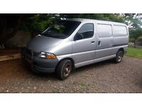 Toyota Hiace LWB, April 2000. MOT to Jan 2018