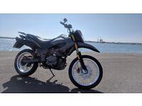 Keeway TX 125 cc Enduro geared motorcycle 6000miles new MOT (not aprilia yamaha gilera peugeot)