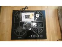 Baumatic BHR600BL Gas Hob - Black, Black