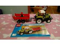 Lego City - Tractor And Trailer