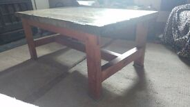 Large slate coffee table for sale